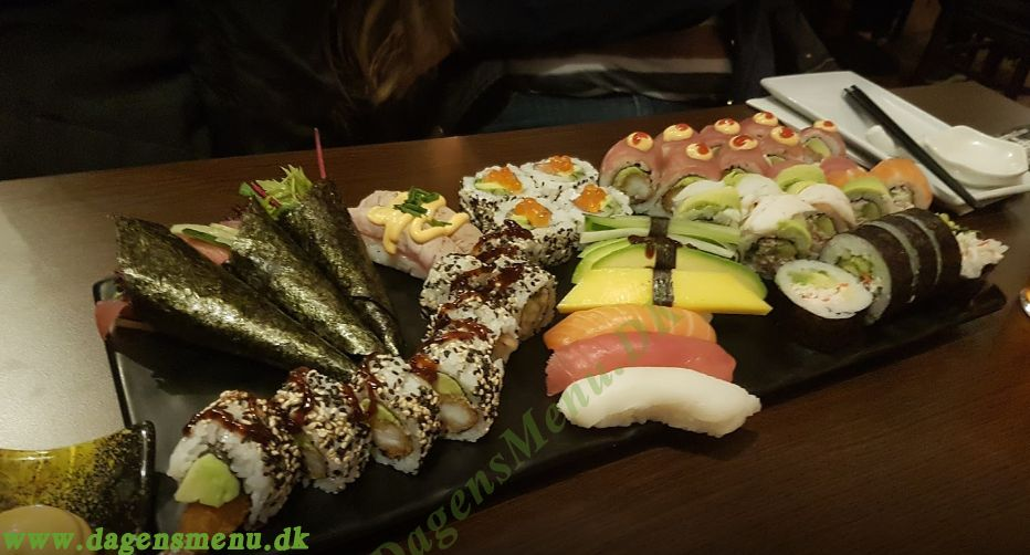 Restaurant Great Sushi - Menukort