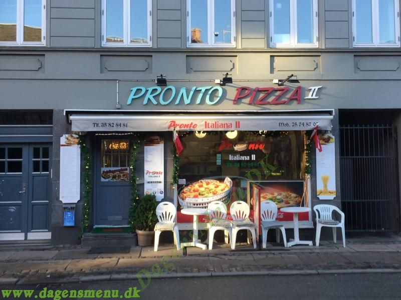 Pronto Pizza Stefansgade