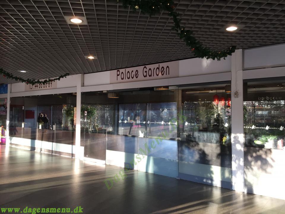 Palace Garden Ballerup - Dagens Menu