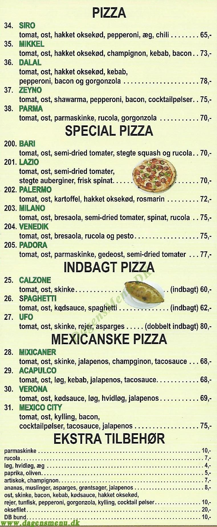 lindehøj pizzaria tlf