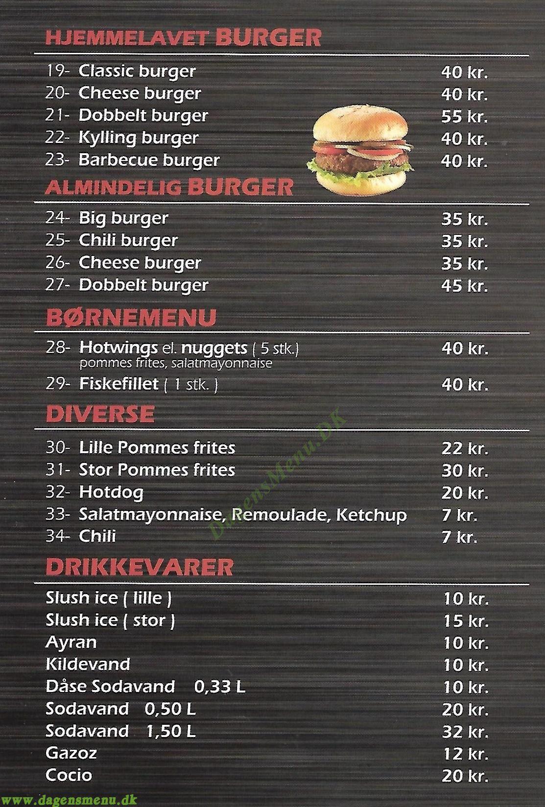 kong kebab hvidovre menukort
