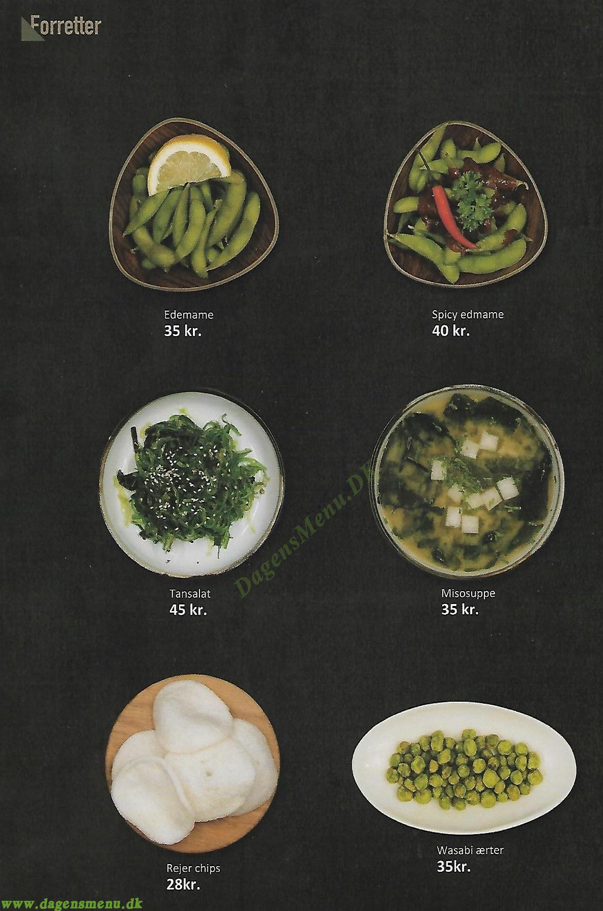 Katsura Sushi - Menukort