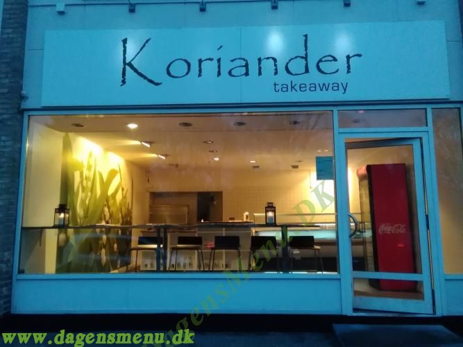 Koriander Indisk Take Away