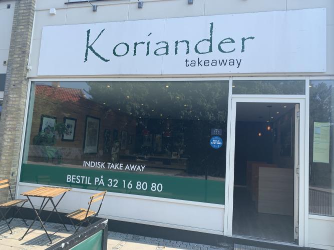 Koriander Indisk Take Away