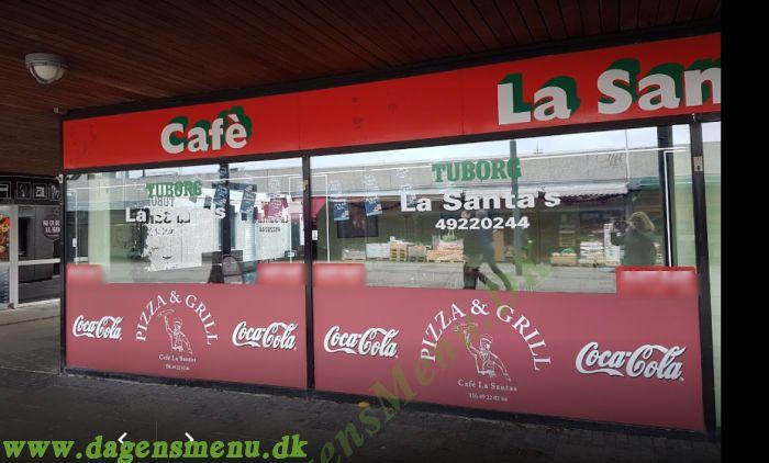 Cafe Le Santa Pizza