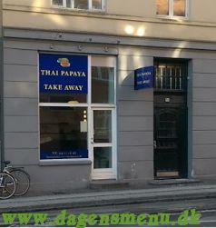Thai papaya - Take away