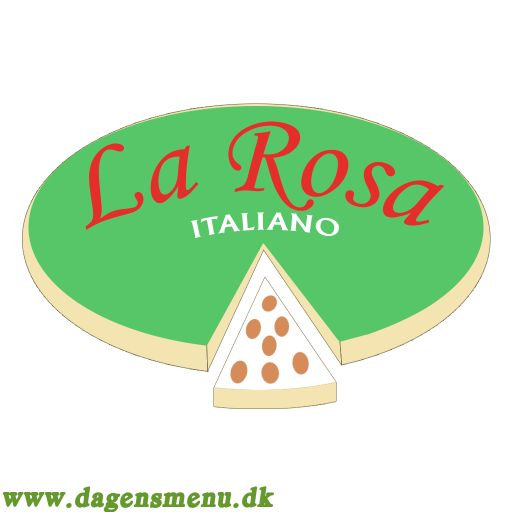 La Rosa Italiano - Menukort