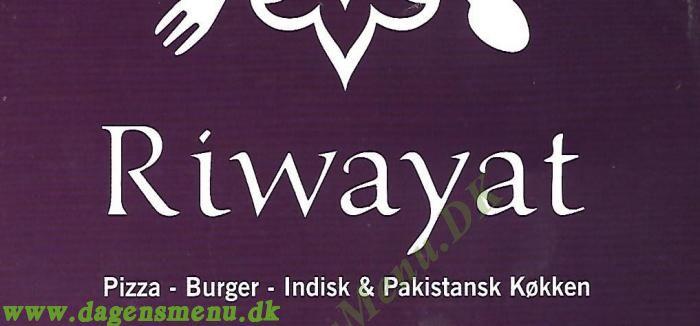 Riwayat - Indisk & Pakistansk Catering