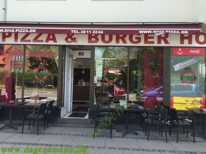 Diva Pizza & Bruger house