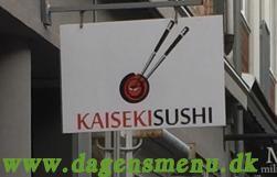 Kaiseki Sushi