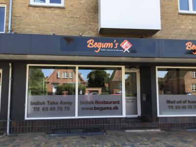 Begums Indisk Restaurant & Take  Away