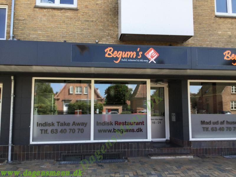Begums Indisk Restaurant & Take  Away