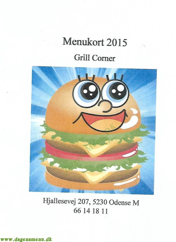 Grill Corner - Menukort