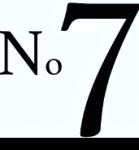 No 7 Mageløs