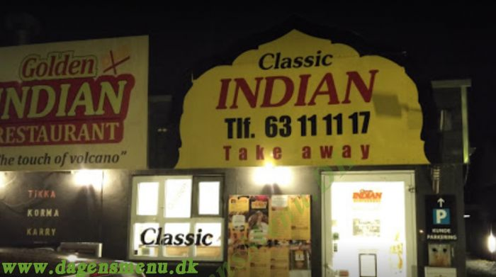 Classic Indian Take Away