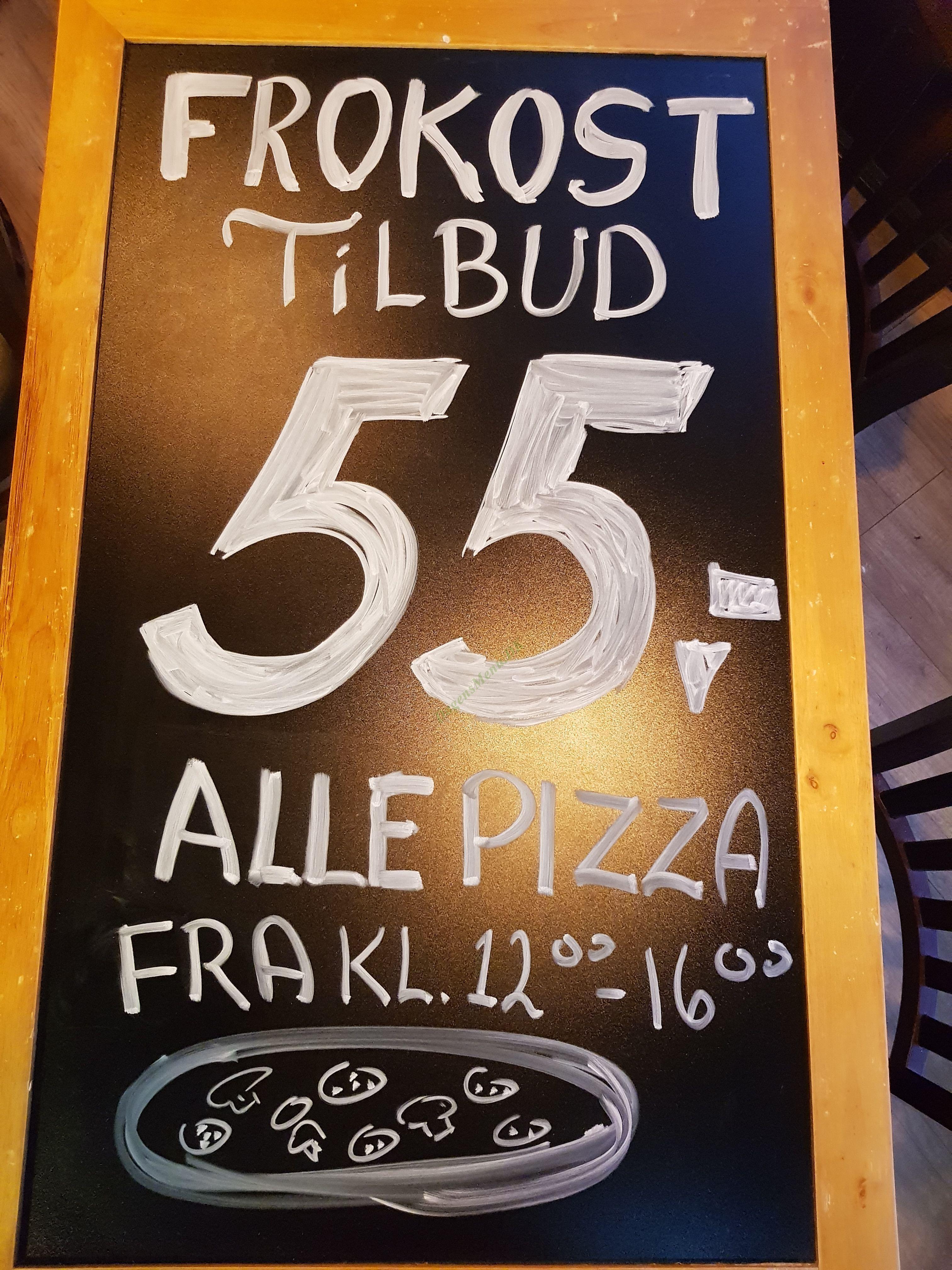 Chello's Pizza - Menukort