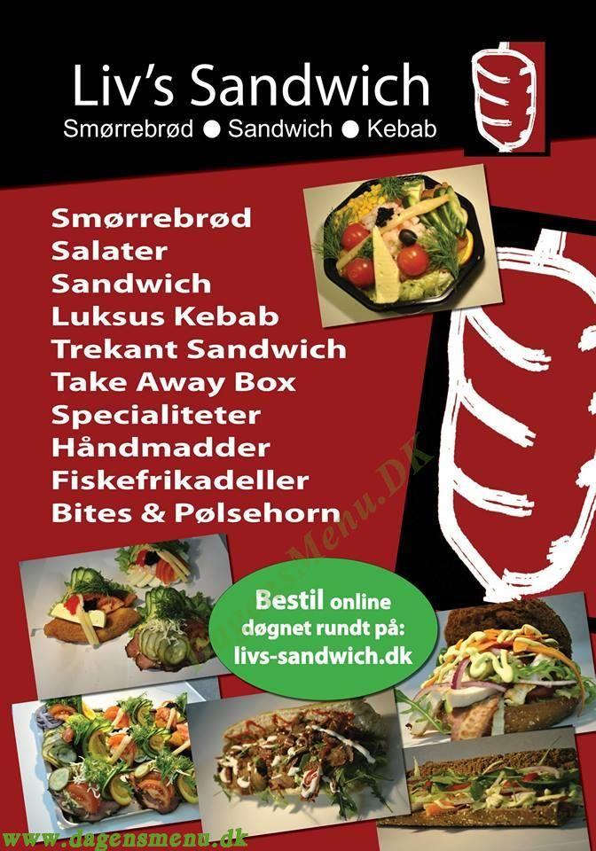 Mac's Shawarma og Pita - Menukort