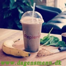 Replenish Fitness café