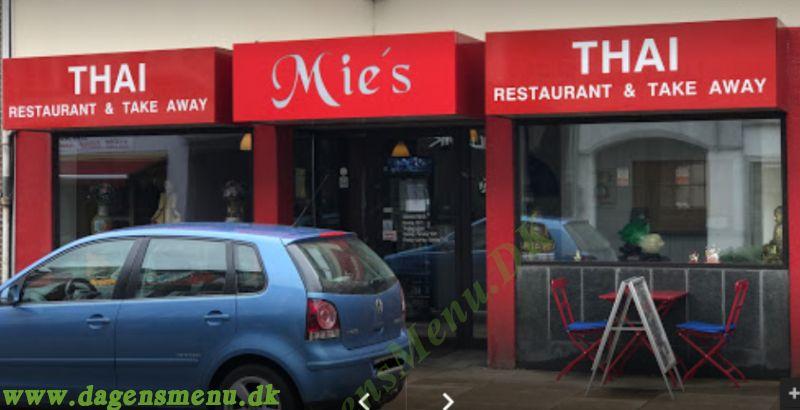 Mie's Thai Restaurant & Take Away