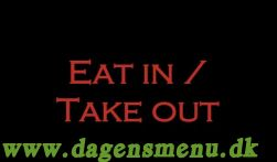 Eat In Take Out