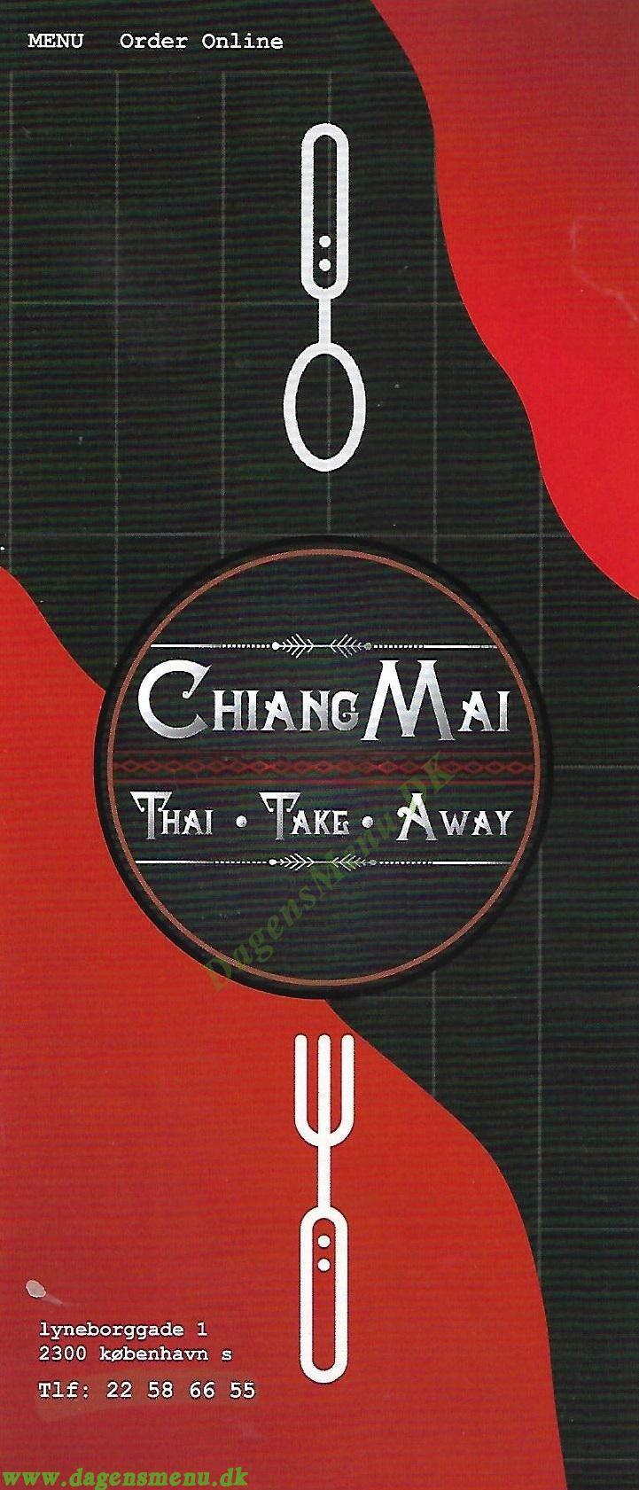 Chiang Mai Amager - Menukort