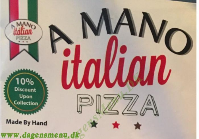 Pizza A Mano