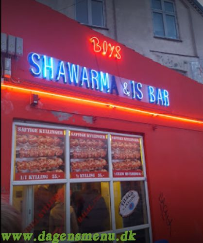 Boys shawarma