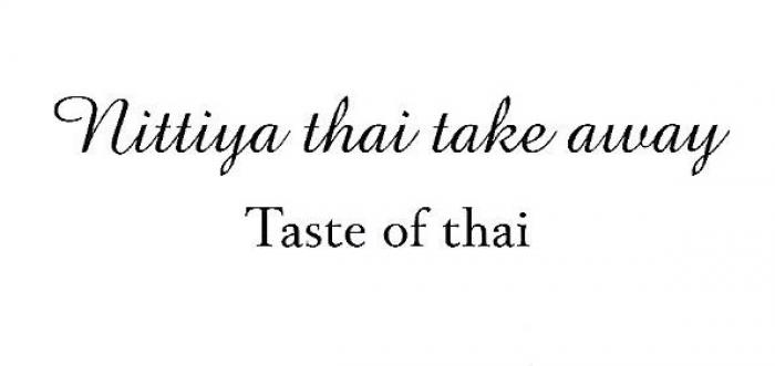 Nittiya's Thai Take Away