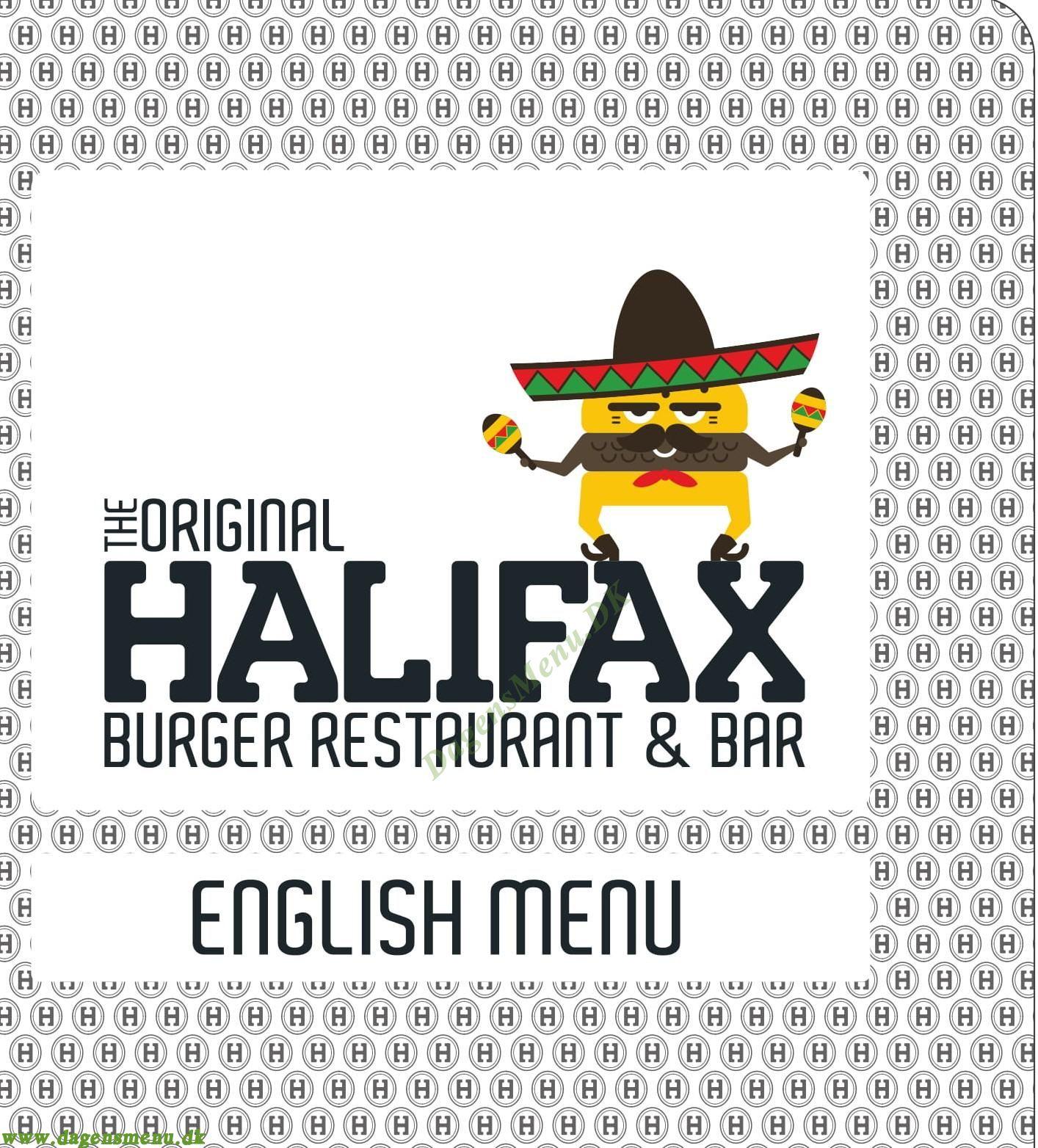 Halifax Trianglen - Menukort