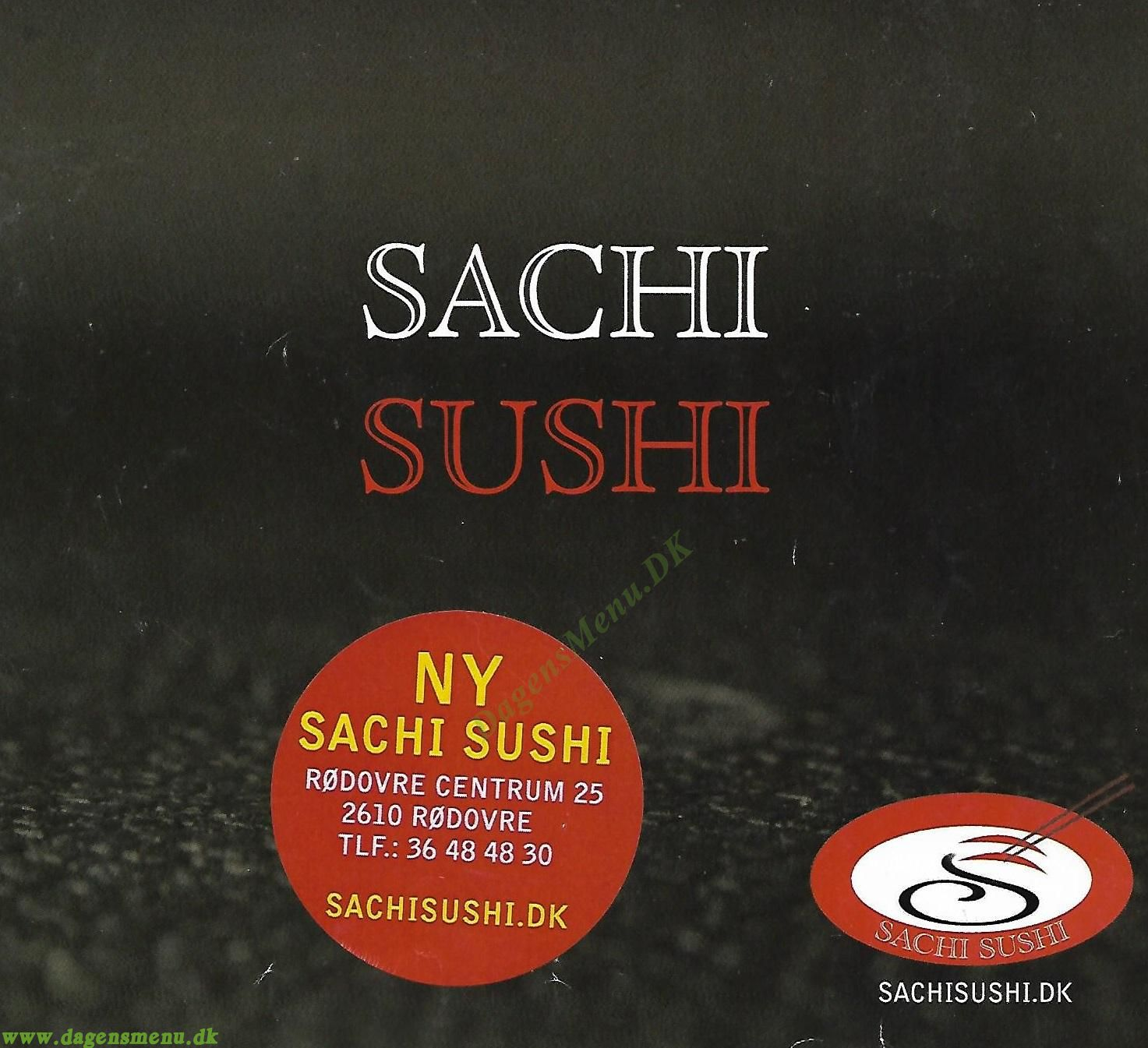 Sachi Sushi Restaurant - Menukort