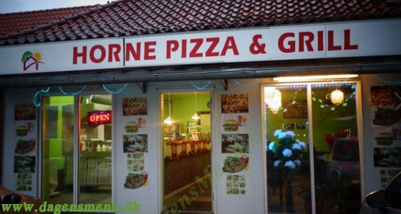 Horne Pizza Og Grill Hirtshals Dagens Menu