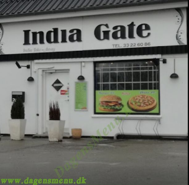 India Gate pizza