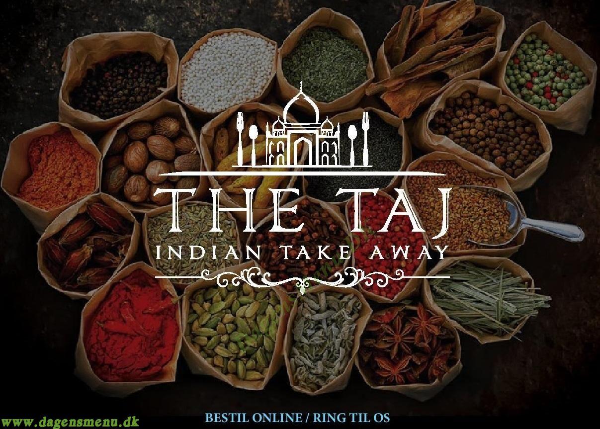 The Taj Indisk Take Away Amager - Menukort