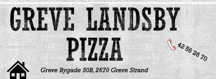 Greve Landsby Pizza
