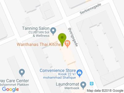 Wanthanas Thai Kitchen - Kort