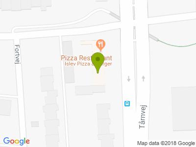 Islev Pizza & Burgerhouse - Kort
