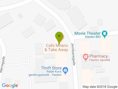 Cafe Milano - Kort