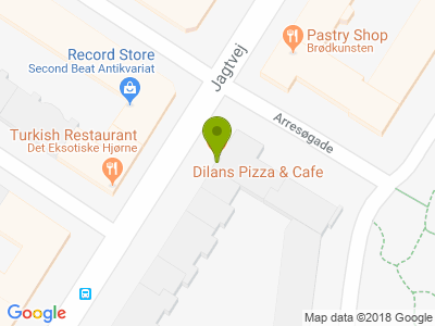 DILANS PIZZARIA & CAFE - Kort