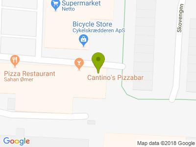 Cantino's Pizzabar - Kort