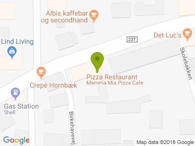 Mamma Mia Pizza Cafe - Kort