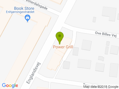 Power Grill Amager - Kort