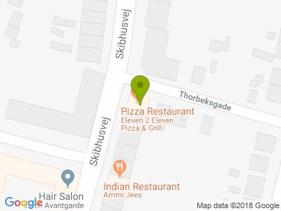 Pizza Eleven 2 Eleven - Kort