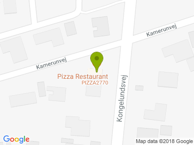 Pizza 2770 - Kort