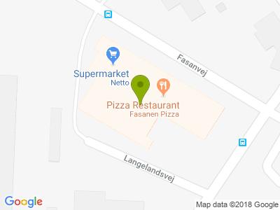 Fasanen Pizza - Kort