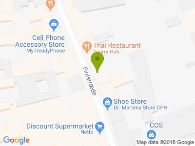 Pizza Time Fiolstræde - Kort