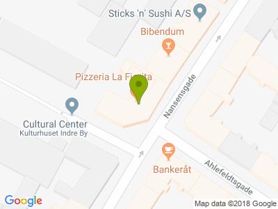 La Fiorita Pizzeria - Kort