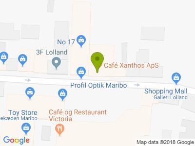 Cafe Xanthos - Kort