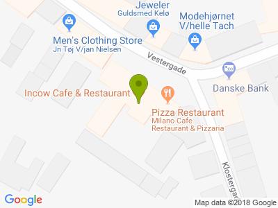 Milano Cafe Restaurant & Pizzaria - Kort
