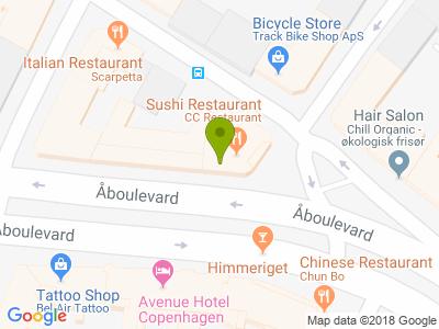 CC Restaurant, Sushi & Wok - Kort