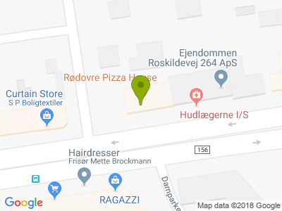 Rødovre Pizza House - Kort